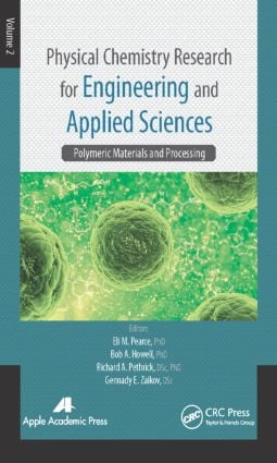 Physical Chemistry Research for Engineering and Applied Sciences, Volume Two: Polymeric Materials and Processing, 1st Edition (Hardback) book cover