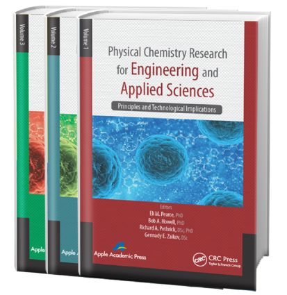 Physical Chemistry Research for Engineering and Applied Sciences - Three Volume Set: 1st Edition (Hardback) book cover