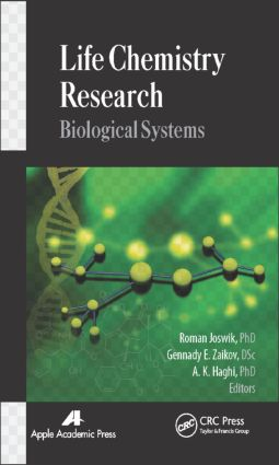 Life Chemistry Research: Biological Systems, 1st Edition (Hardback) book cover