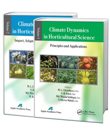 Climate Dynamics in Horticultural Science, Two Volume Set: 1st Edition (Hardback) book cover