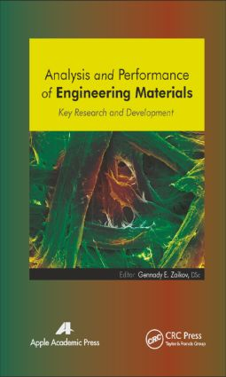 Analysis and Performance of Engineering Materials: Key Research and Development, 1st Edition (Hardback) book cover