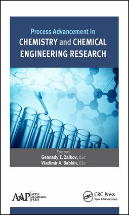Process Advancement in Chemistry and Chemical Engineering Research: 1st Edition (Hardback) book cover