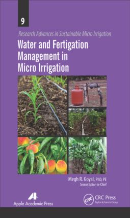 Water and Fertigation Management in Micro Irrigation: 1st Edition (Hardback) book cover
