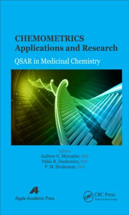 Chemometrics Applications and Research: QSAR in Medicinal Chemistry, 1st Edition (Hardback) book cover