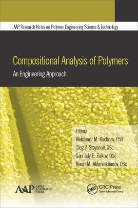 Compositional Analysis of Polymers: An Engineering Approach, 1st Edition (Hardback) book cover