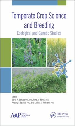 Temperate Crop Science and Breeding: Ecological and Genetic Studies, 1st Edition (Hardback) book cover