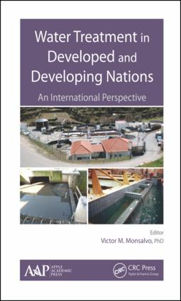 Water Treatment in Developed and Developing Nations: An International Perspective, 1st Edition (Hardback) book cover