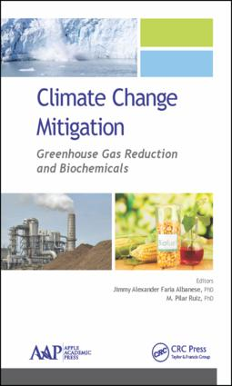 Climate Change Mitigation: Greenhouse Gas Reduction and Biochemicals, 1st Edition (Hardback) book cover