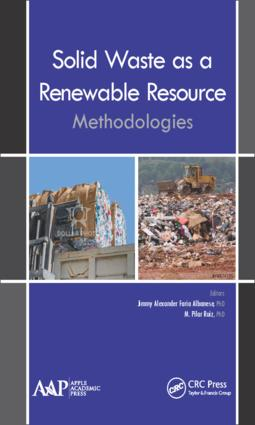 Solid Waste as a Renewable Resource: Methodologies, 1st Edition (Hardback) book cover