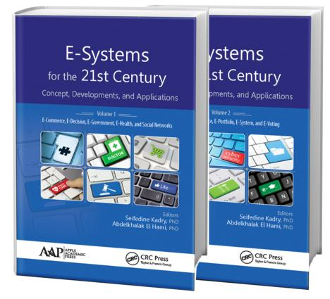 E-Systems for the 21st Century: Concept, Developments, and Applications - Two Volume Set, 1st Edition (Hardback) book cover