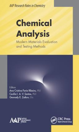 Chemical Analysis: Modern Materials Evaluation and Testing Methods book cover