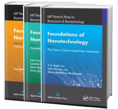 Foundations of Nanotechnology - Three Volume Set: 1st Edition (Hardback) book cover