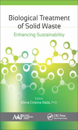Biological Treatment of Solid Waste: Enhancing Sustainability, 1st Edition (Hardback) book cover