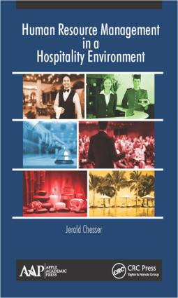 Human Resource Management in a Hospitality Environment: 1st Edition (Hardback) book cover