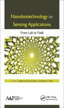 Nanobiotechnology for Sensing Applications: From Lab to Field, 1st Edition (Hardback) book cover