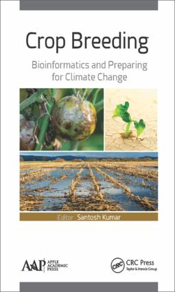 Crop Breeding: Bioinformatics and Preparing for Climate Change, 1st Edition (Hardback) book cover