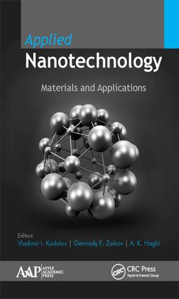 Applied Nanotechnology: Materials and Applications, 1st Edition (Hardback) book cover