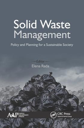 Solid Waste Management: Policy and Planning for a Sustainable Society, 1st Edition (Hardback) book cover