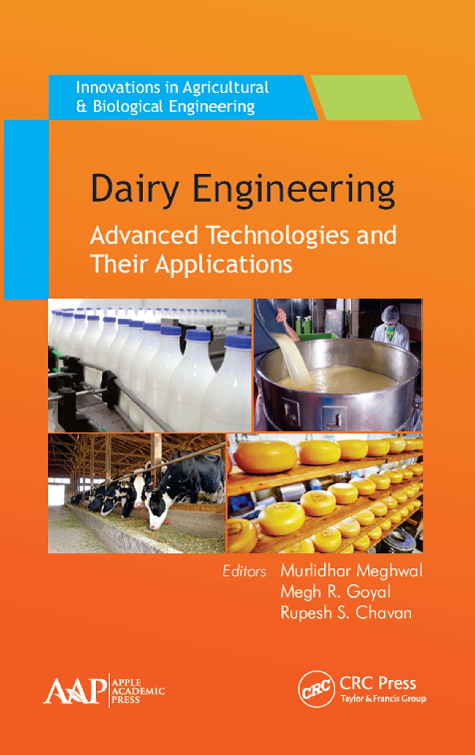 Dairy Engineering: Advanced Technologies and Their Applications, 1st Edition (Hardback) book cover