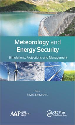 Meteorology and Energy Security: Simulations, Projections, and Management, 1st Edition (Hardback) book cover