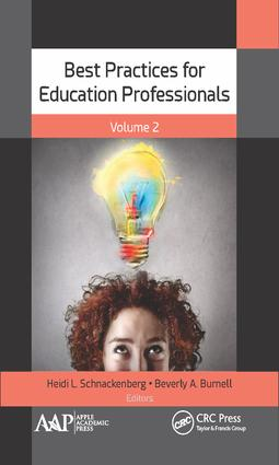 Best Practices for Education Professionals, Volume Two: 1st Edition (Hardback) book cover