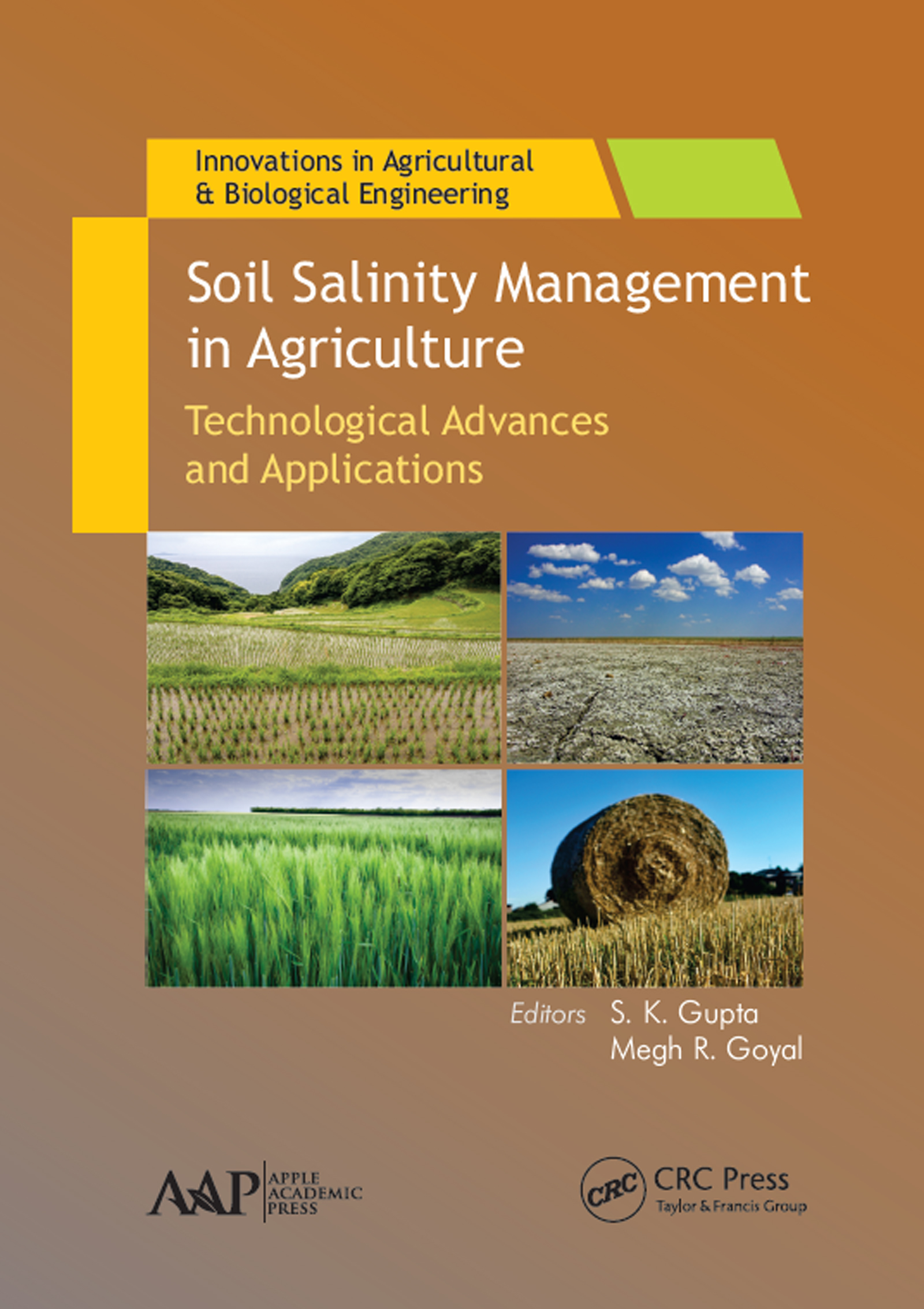 Soil Salinity Management in Agriculture: Technological Advances and Applications (Hardback) book cover