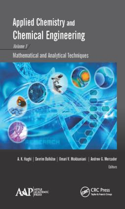 Applied Chemistry and Chemical Engineering, Volume 1: Mathematical and Analytical Techniques, 1st Edition (Hardback) book cover