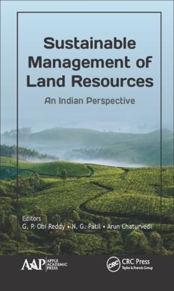 Sustainable Management of Land Resources: An Indian Perspective, 1st Edition (Hardback) book cover