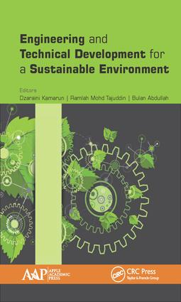 Engineering and Technical Development for a Sustainable Environment: 1st Edition (Hardback) book cover