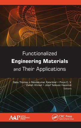Functionalized Engineering Materials and Their Applications: 1st Edition (Hardback) book cover