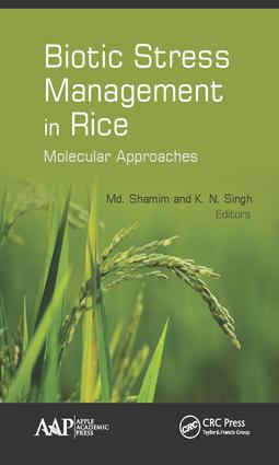Biotic Stress Management in Rice: Molecular Approaches, 1st Edition (Hardback) book cover
