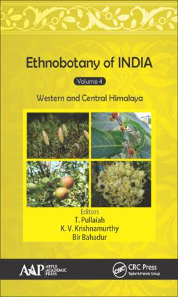 Ethnobotany of India, Volume 4: Western and Central Himalayas, 1st Edition (Hardback) book cover