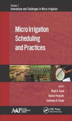 Micro Irrigation Scheduling and Practices: 1st Edition (Hardback) book cover