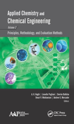 Applied Chemistry and Chemical Engineering, Volume 2: Principles, Methodology, and Evaluation Methods, 1st Edition (Hardback) book cover