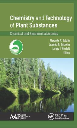 Chemistry and Technology of Plant Substances: Chemical and Biochemical Aspects, 1st Edition (Hardback) book cover