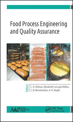 Food Process Engineering and Quality Assurance: 1st Edition (Hardback) book cover