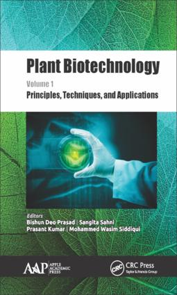Plant Biotechnology, Volume 1: Principles, Techniques, and Applications book cover