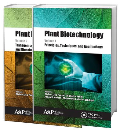 Plant Biotechnology, Two-Volume Set: 1st Edition (Hardback) book cover