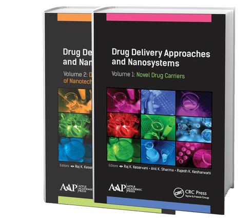 Drug Delivery Approaches and Nanosystems, Two-Volume Set: 1st Edition (Hardback) book cover