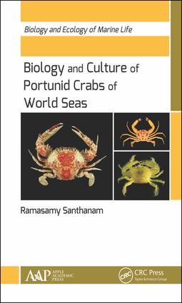 Biology and Culture of Portunid Crabs of World Seas: 1st Edition (Hardback) book cover