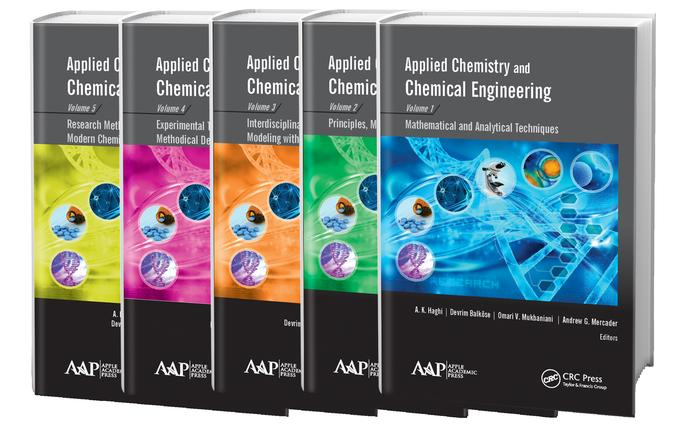 Applied Chemistry and Chemical Engineering, 5-Volume Set: 1st Edition (Hardback) book cover