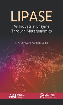 Lipase: An Industrial Enzyme Through Metagenomics, 1st Edition (Hardback) book cover
