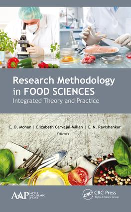 Research Methodology in Food Sciences: Integrated Theory and Practice, 1st Edition (Hardback) book cover