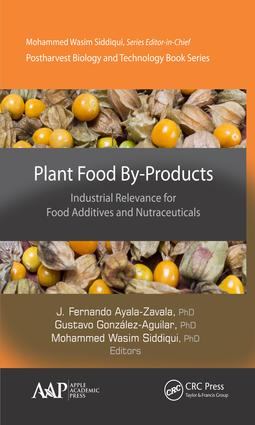 Plant Food By-Products: Industrial Relevance for Food Additives and Nutraceuticals, 1st Edition (Hardback) book cover