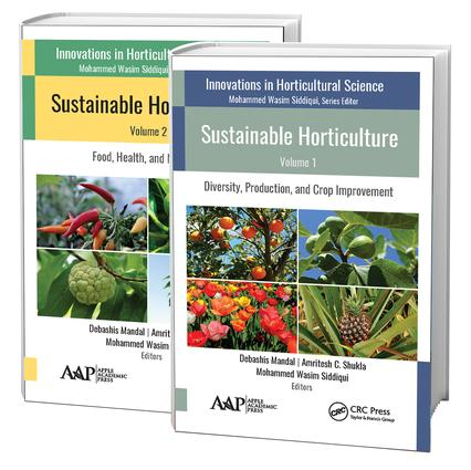 Sustainable Horticulture, 2 Volume Set: 1st Edition (Hardback) book cover