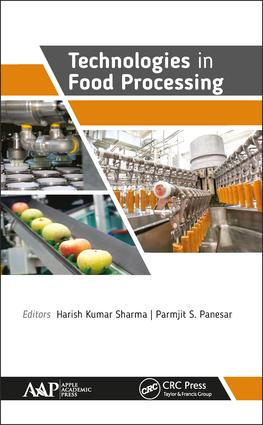 Technologies in Food Processing: 1st Edition (Hardback) book cover