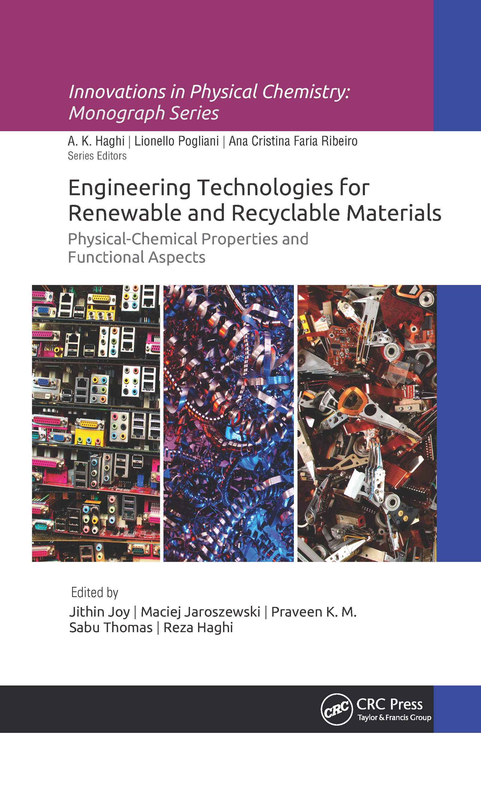 Engineering Technologies for Renewable and Recyclable Materials: Physical-Chemical Properties and Functional Aspects book cover