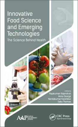 Innovative Food Science and Emerging Technologies book cover