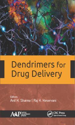Dendrimers for Drug Delivery: 1st Edition (Hardback) book cover