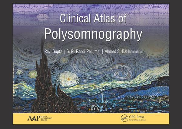 Clinical Atlas of Polysomnography: 1st Edition (Hardback) book cover